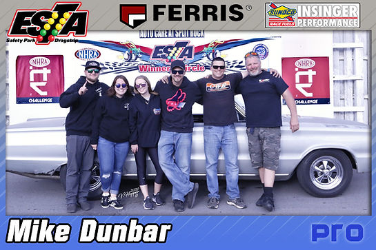 June 14 Pro Winner Mike Dunbar