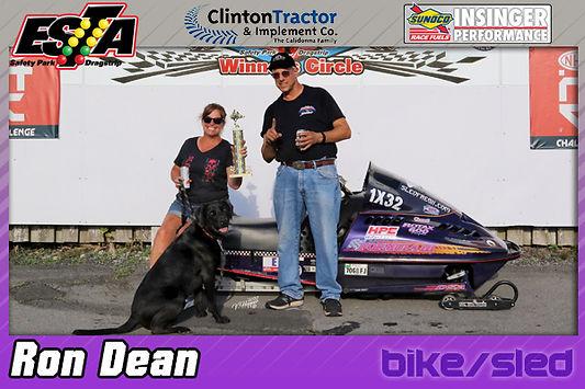 Bike/Sled Winner Ron Dean