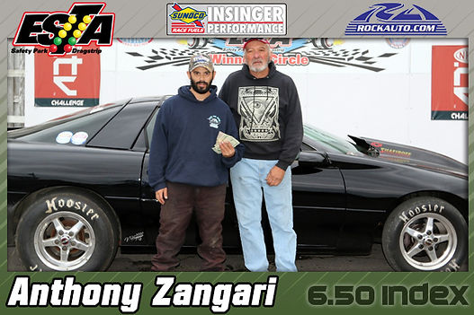6.50 Index Winner Anthony Zangari