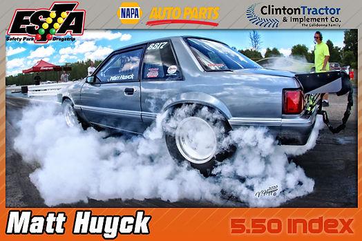 5.50 Index Winner Matt Huyck