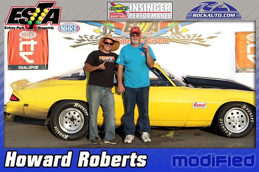 Modified Winner Howard Roberts