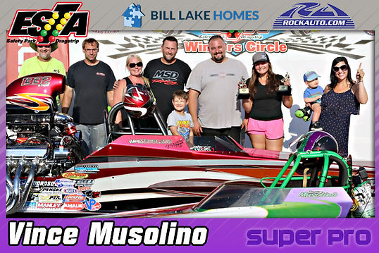 Super Pro Winner Vince Musolino