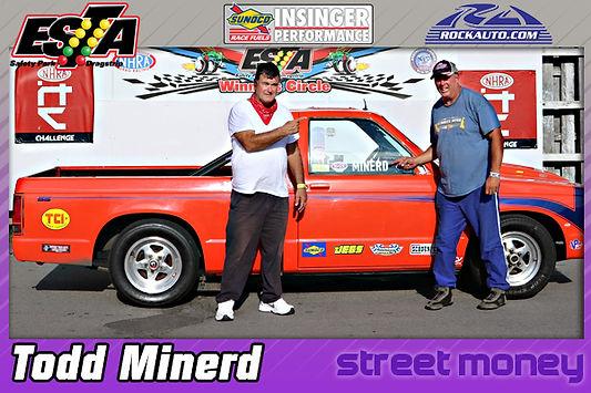 Strett Money Winner Todd Minerd