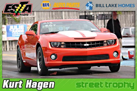 July 19 Street Trophy Winner Kurt Hagen