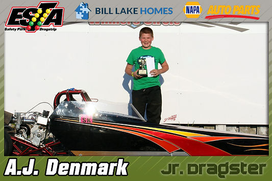 ESTA Jr. Dragster Winner for September 6, 2020