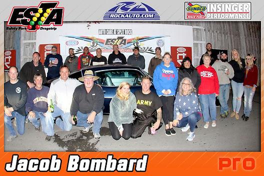 Pro Winner Jacob Bombard
