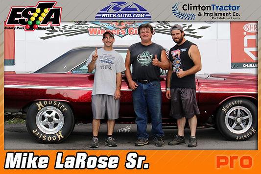 Pro Winner Mike LaRose Sr.