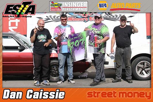 Street Money Winner Dan Caissie