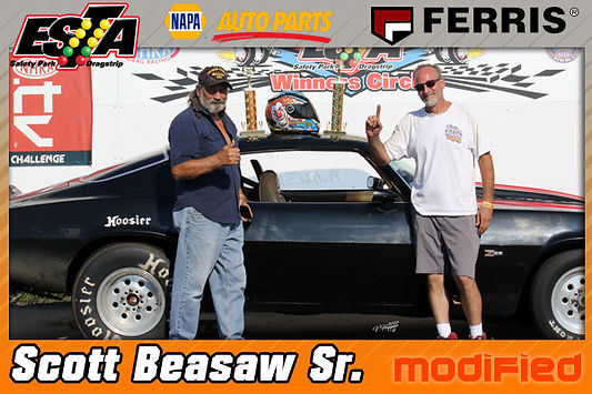 Modified Winner Scott Beasaw Sr.