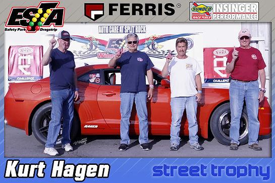 Street Trophy Winner Kurt Hagen