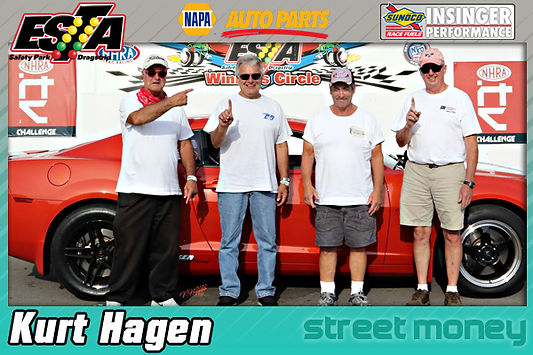 Street Money Winner Kurt Hagen