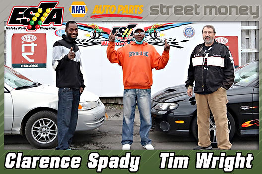 Clarence Spady & Tim Wright Split Street Money Win and Purse