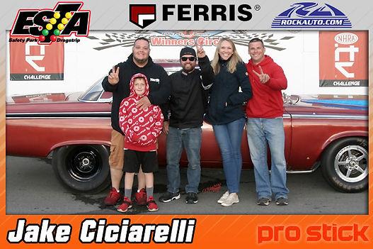 Pro Stick Winner Jake Ciciarelli