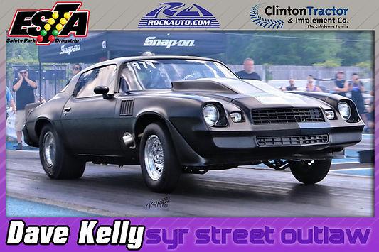 Syracuse Street Outlaws Winner Dave Kelly