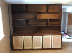 Old Pine Cabinet.