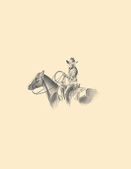 carolina colantuoni, cowboy, illustration, rancher, sketch
