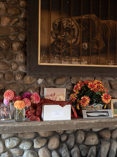 Ashes on the Cabin Mantle: Molly Peters