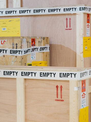 crates art basel hong kong daniel terna