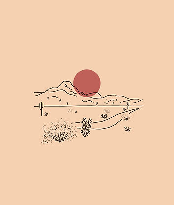 harsh home, carolina colantuoni, illustration, sketch, moon, mountains