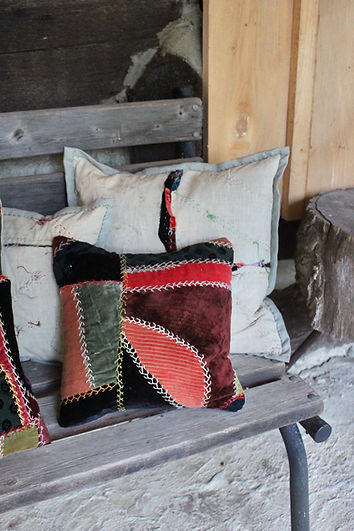 homemade pillows fashion designer