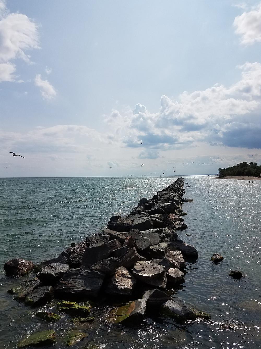 View from Centre Island Pier, Toronto Island