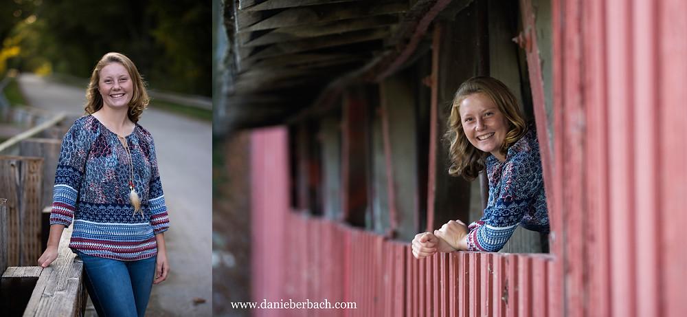 Portraits at Spencerville Covered Bridge