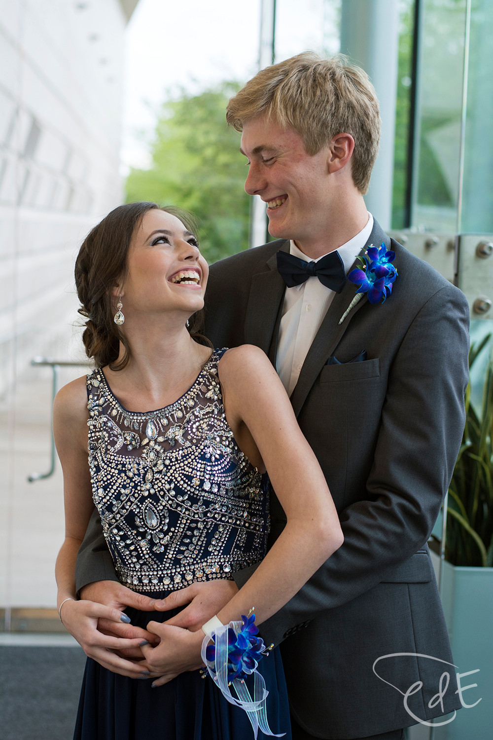 Indoor prom pictures at Grand Wayne Center
