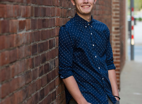 Daniel - Class of 2019 | Senior Pictures in Downtown Fort Wayne