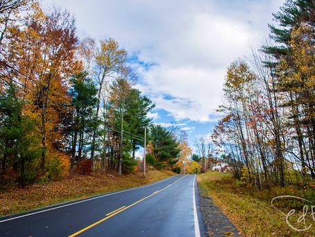 A New England October