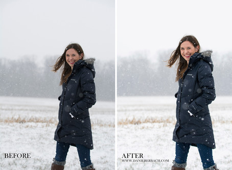Before & After 2: Editing More Portraits | Fort Wayne Portrait Photography