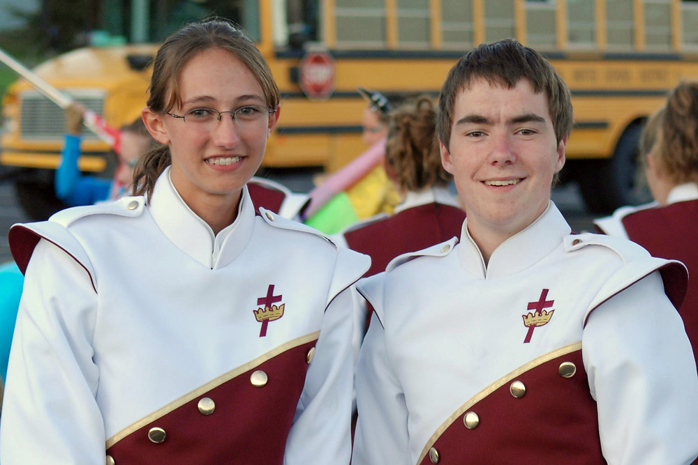Marching band competition, 2008