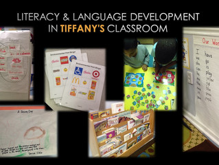 Literacy & Language Development in MY Classroom