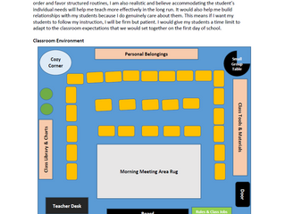 My Classroom Management Plan