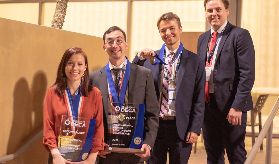 Arizona Collegiate DECA Champions from UArizona