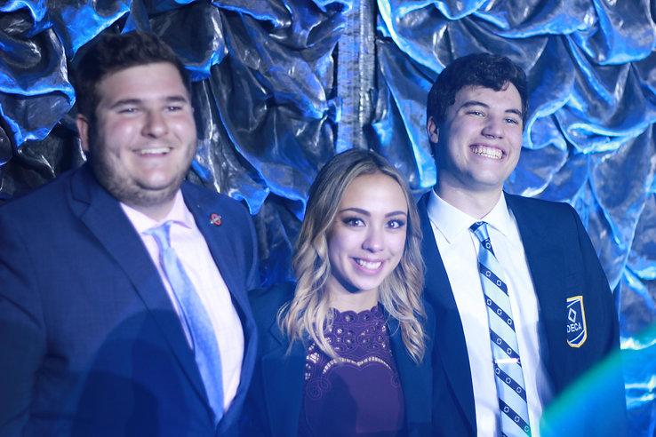 Arizona Collegiate DECA international representatives