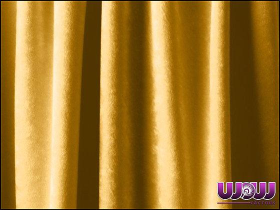 Gold Super Velour Drape