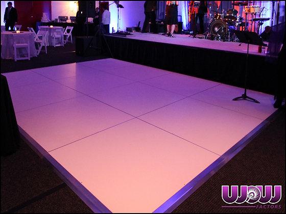White Laminate Dance Floor