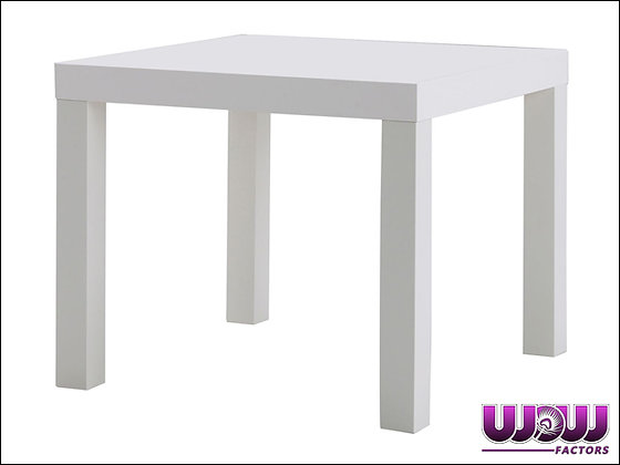 Contemporary White End Tables