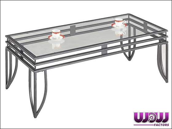 Matrix Steel & Glass Coffee Table