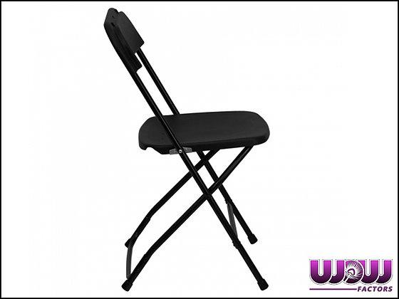 Plastic Black Folding Chairs