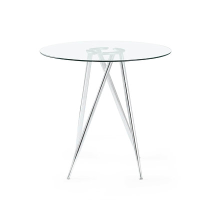G Line Glass Top Cocktail Table