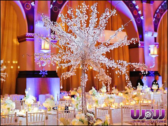 Crystal Tree Centerpiece