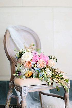 Elizabeth Linen White Wash Chair