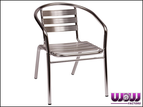Silver Streak Arm Chair
