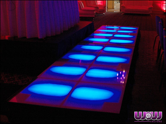 LED Lighted Dance Floor