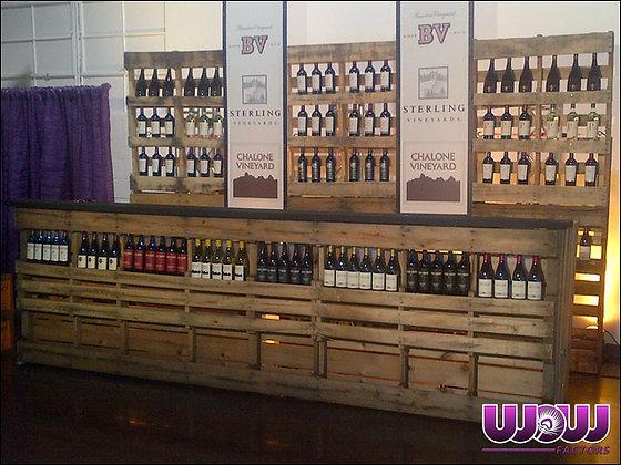 Pallet Wine Bar 8'