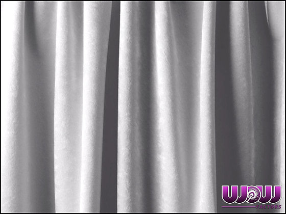 Light Grey Super Velour Drape