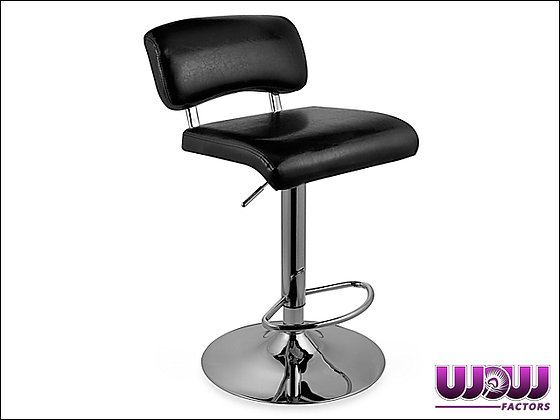 Low Rise Black Bar Stool