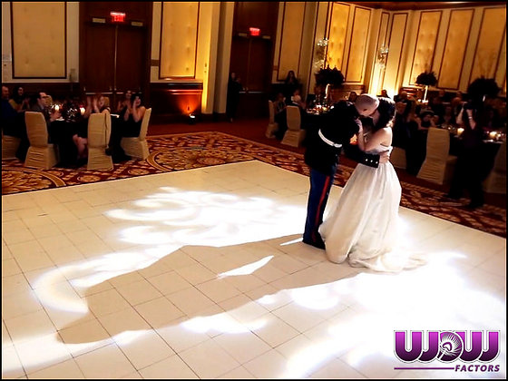 Slate White Modular Dance Floor