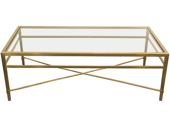 Croft Brushed Gold Coffee Table